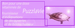 PuzzlaVie Best of - Juillet 2005
